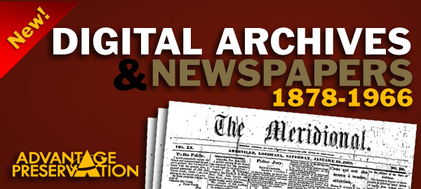 Digital Archive and Newspapers