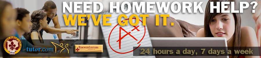 Free, Live Homework Help from Tutor.com