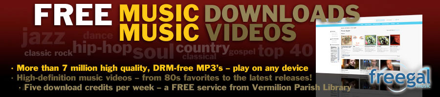 Millions Of Free, Legal MP3s with Freegal!