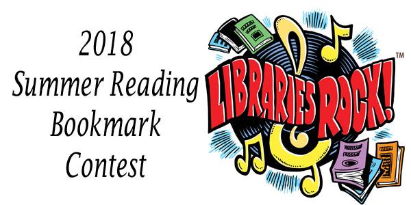 Summer Reading Program Bookmark Design Contest 2018