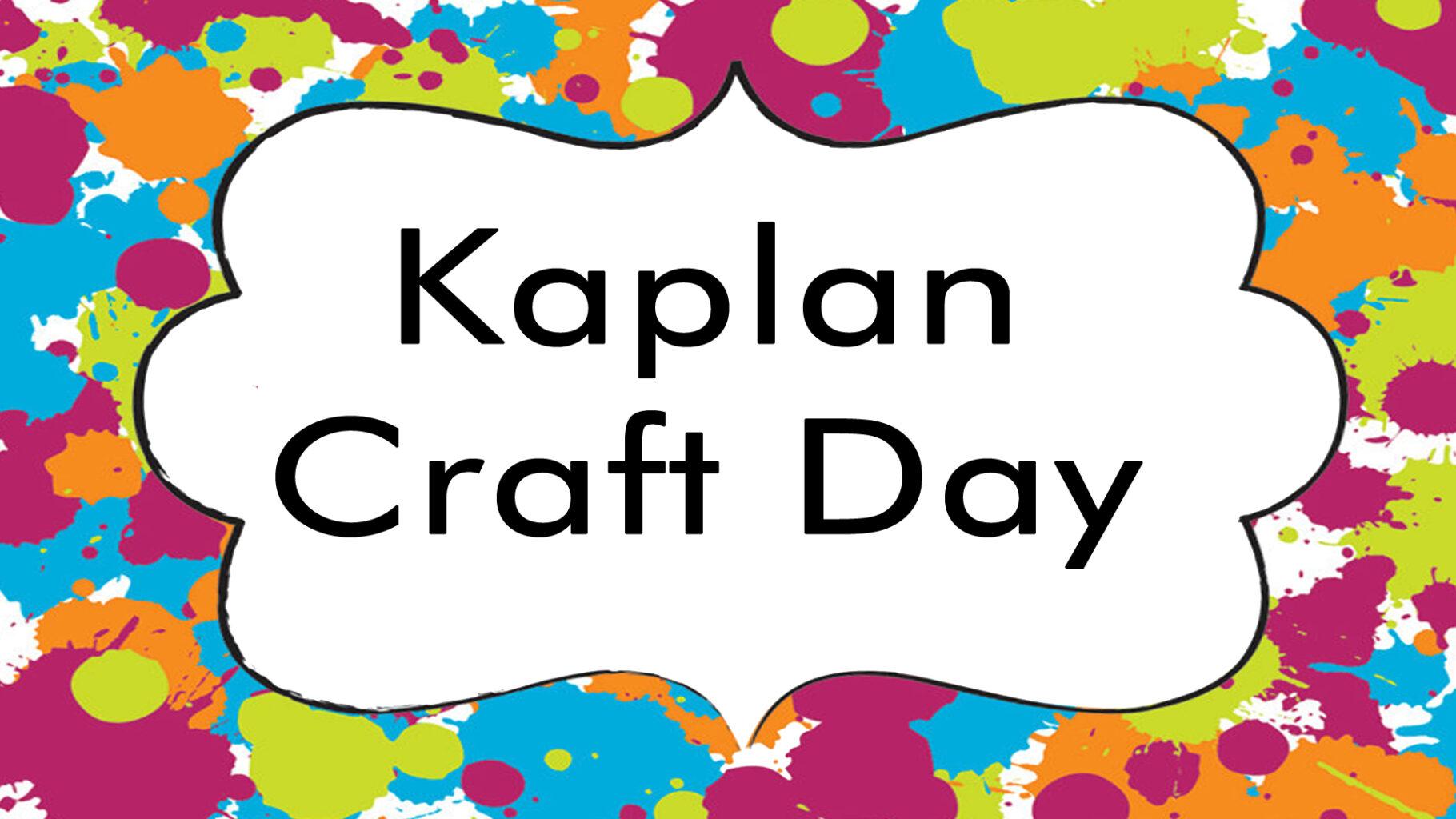 Kaplan Branch Activities